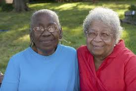 black senior citizen females